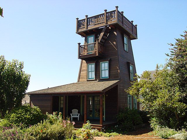 Mendocino water tower yahoo search results water tower for House plans with tower room
