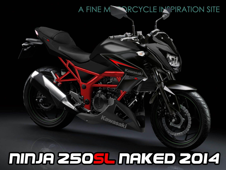 Kawasaki Ninja 250sl Naked Bike Motorcycles Pinterest Foot Step L Belakang Honda Cb Motorcycle Engine
