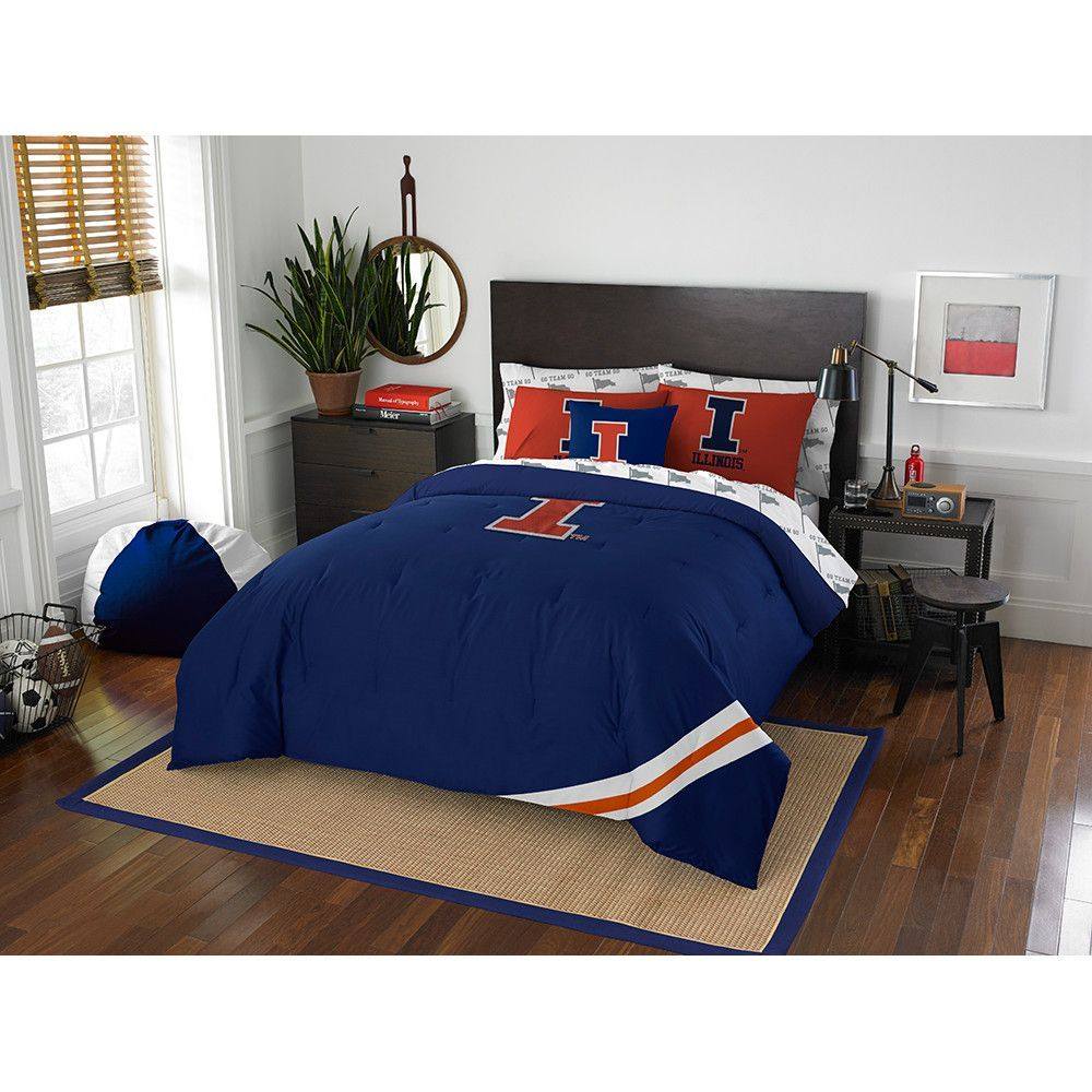 Illinois Fighting Illini Ncaa Bed In A Bag Contrast