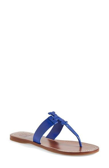 8b48b36d85f7fe Tory Burch  Moore  Leather Thong Sandal (Women) available at  Nordstrom