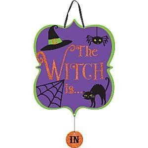 The Witch is In/Out Bord