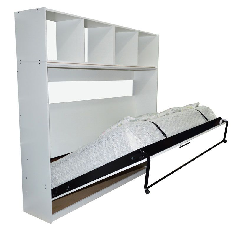 Cama plegable para colchon 2 plazas rebatible horizontal for Camas y colchones