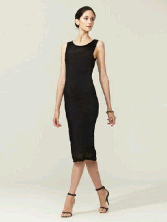 Black Sleeveless Midi Sheath Dress Style Pinterest Dresses
