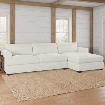 Best Darby Home Co Merida Sectional Rustic Interiors Modern 400 x 300
