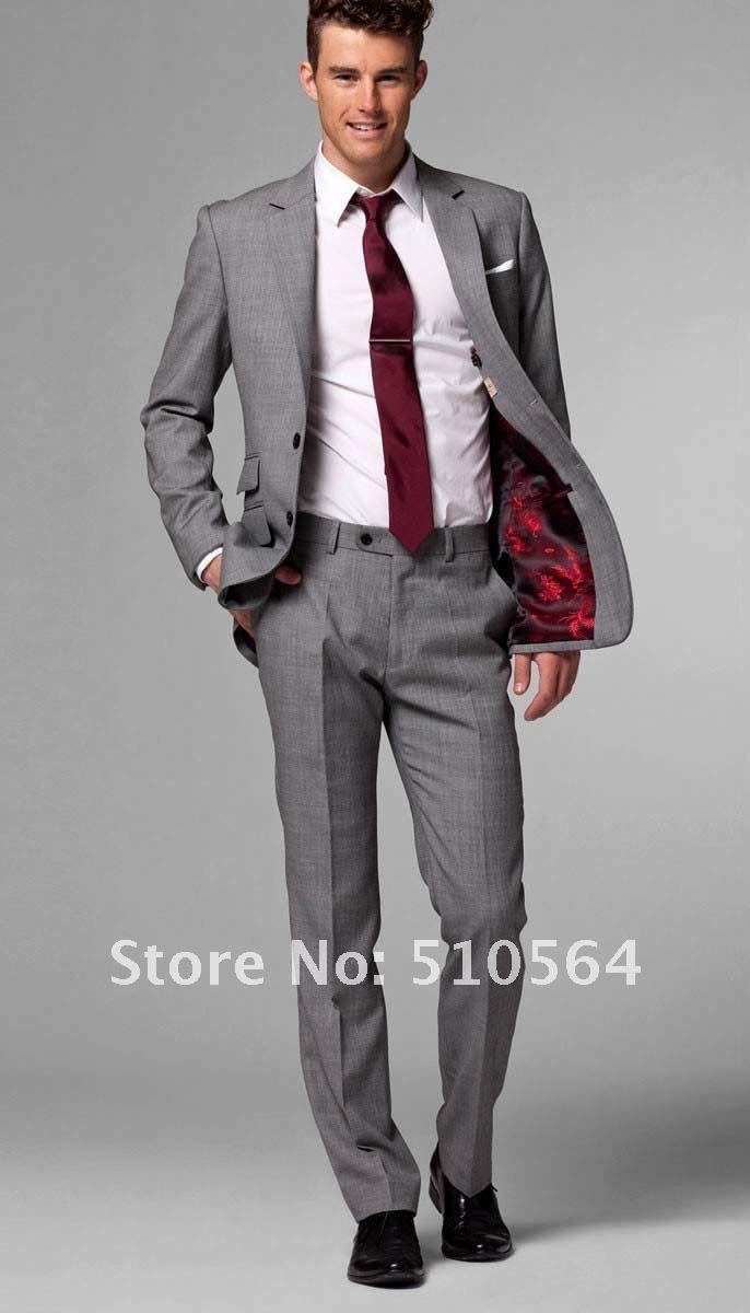 mens grey suit - Google Search | Gents' looks | Pinterest | Mens ...