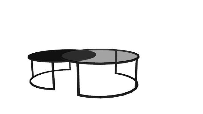 eclipse 2 tables basses gigognes en