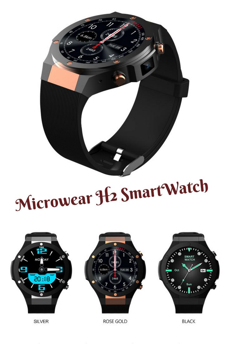 2e8399fa8f57eb Microwear H2 android ios 1G+16GB Smartwatch 1.39 inch mtk6580 SmartWatch  phone 3G wifi GPS 5M heart rate nano SIM #smartwatch #watch #android  #smartphone # ...