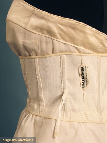 augusta auctions between of support seams and boning in