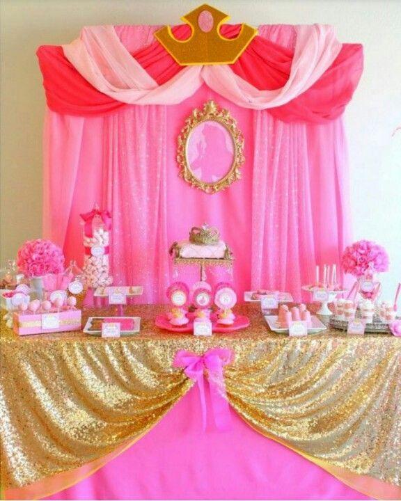 Pink Princess Party Disney Birthday Cinderella Girl