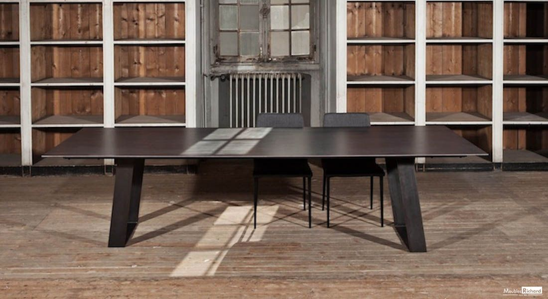 Table Ceramique Extensible Magasin De Meuble Table Salle A Manger Mobilier Design Meuble Contemporain