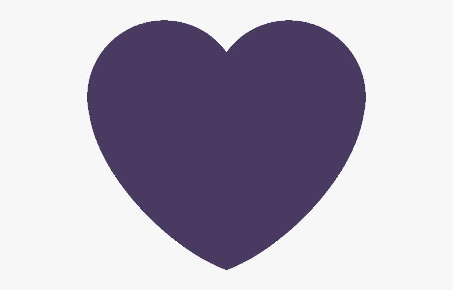 Dpurple Heart Discord Emoji Navy Blue Heart Emoji Discord Love Heart