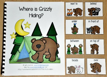 Forest Animals Adapted Book'Where is Grizzly Hiding