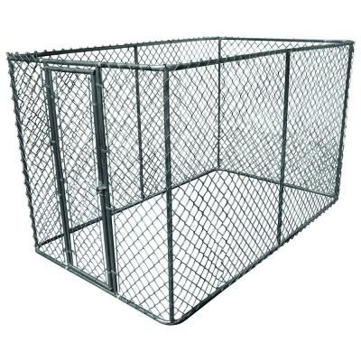 Add Top And Bottom And Use Just 3 Sides For A Basic Catio Home Depot Diy Dog Kennel Dog Kennel Dog Crate