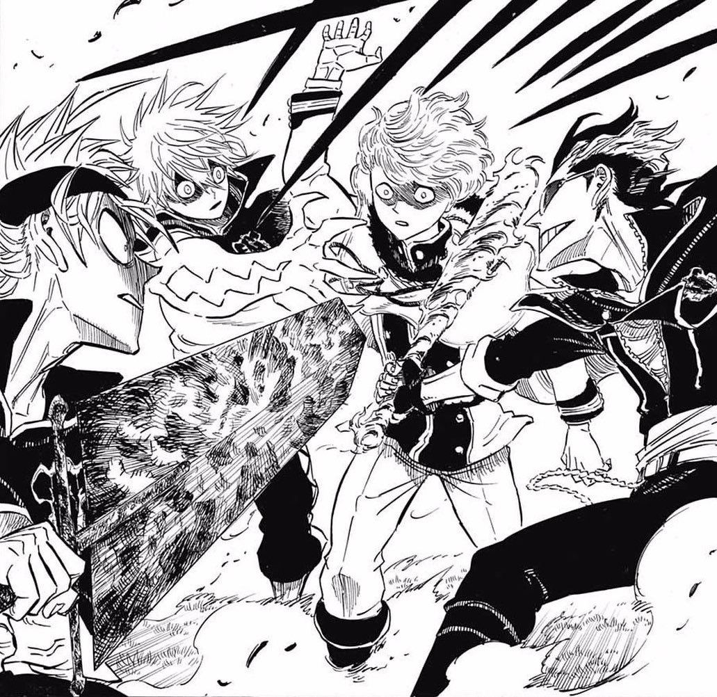 Becca Doubiepiay Black Clover Manga Black Clover Anime Black Bull But the chaos that ensues is not the only thing he leaves behind. black clover manga black clover anime