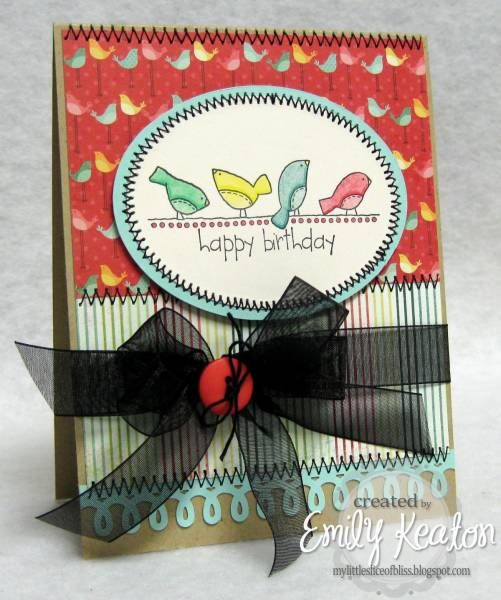 Happy Bird-day! by ejkeaton - Cards and Paper Crafts at Splitcoaststampers