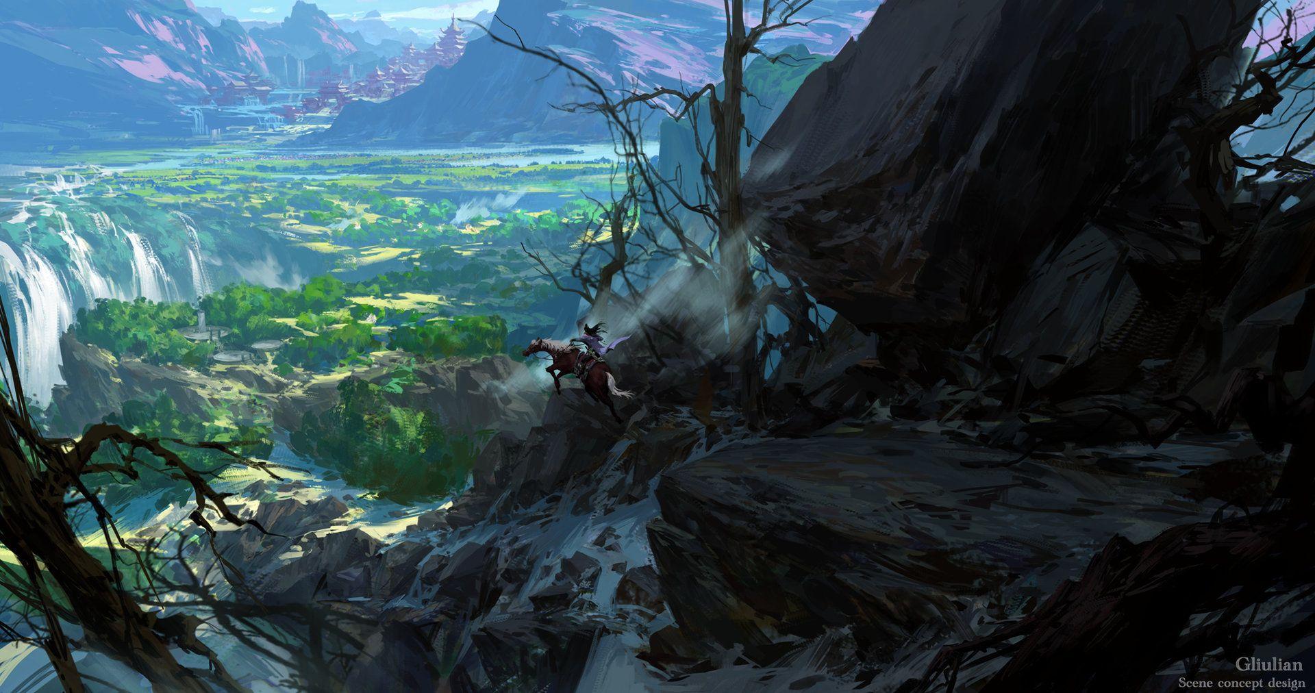 ArtStation - Field of vision, G liulian