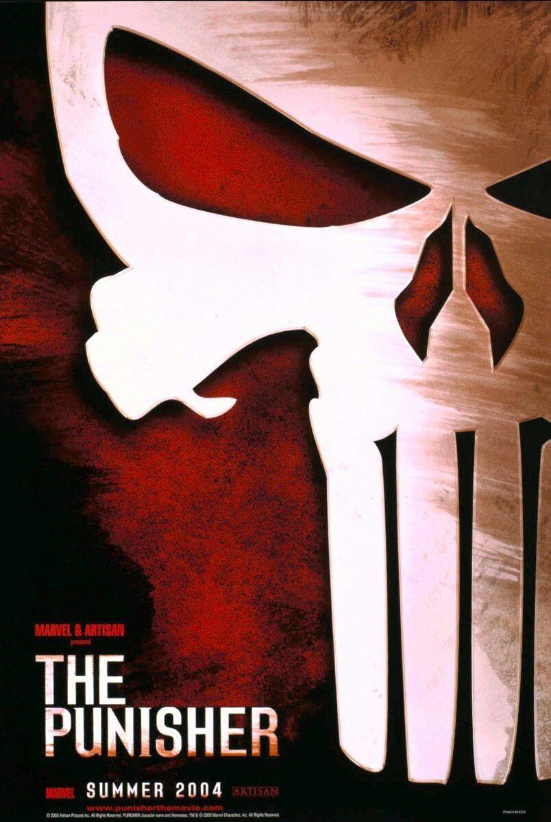 El Castigador 2004 The Punisher Movie Superhero Movies Punisher