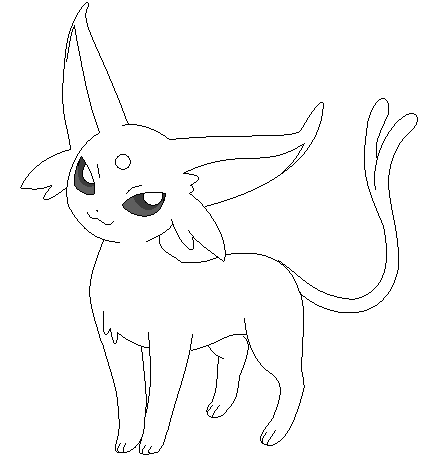 espeon coloring pages - Google Search | Coloring Pages!!! | Pinterest