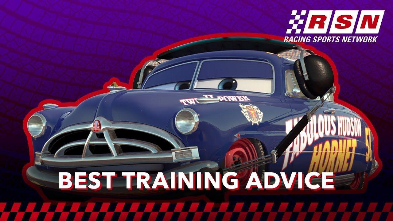 Best Racing Training Advice In Cars Racing Sports Network By Disney Disney Pixar Cars Racing Pixar Cars