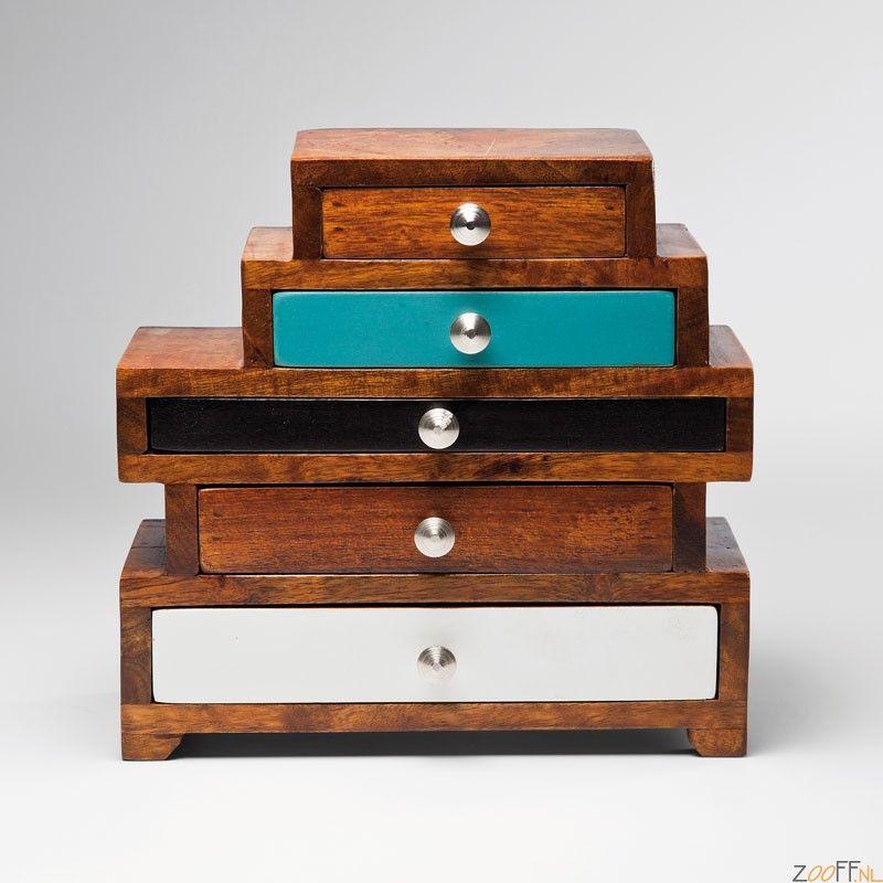 Kare Design Malibu Mini Ladekast 5 lades - De Kare Malibu Ladekast ...