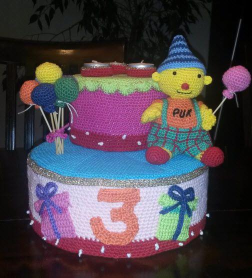 Zelf Gehaakte Pip Studio Taart Crochet Pip Studio Cake Haken