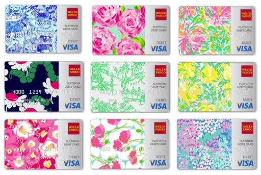Lilly Pulitzer Visa cards from Wells Fargo | Love It! | Pinterest ...