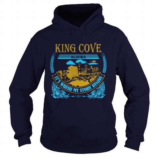 I Love  King Cove-AK  T-Shirts