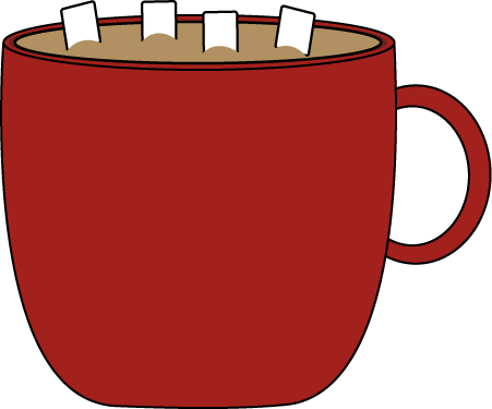Red Cup Of Cocoa Clip Art Red Cups Clipart Black And White