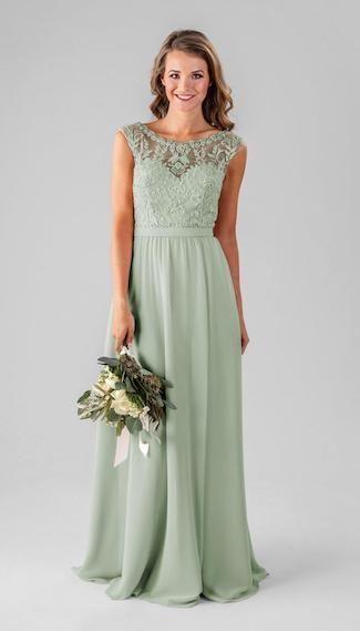 Sage Green Bridesmaids Dresses We Love #sagegreendress Sage Green Bridesmaids Dresses We Love – Kennedy Blue #sagegreendress