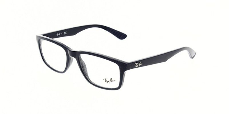 81c2b15945 Ray Ban Glasses RX7063 5419 54 is designed for men and the frame is blue.  This style has a medium - 54mm - lens diameter. The bridge size for this  model is ...