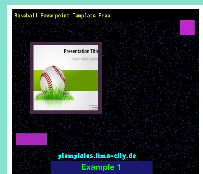 Baseball Powerpoint Template Free Powerpoint Templates