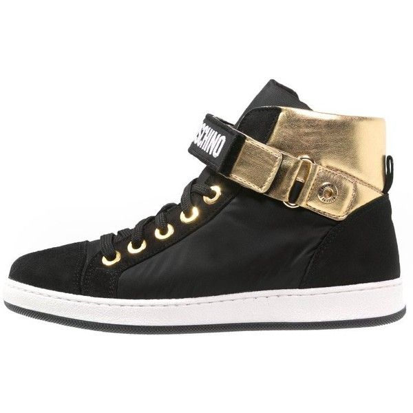 love moschino high top trainers