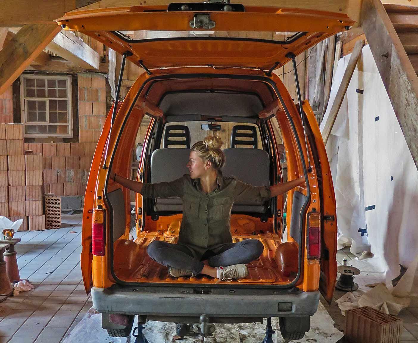 Gut Piaggio Porter Minicamper Minivan Camper Mini Wohnmobil Kleiner Selbstausbau