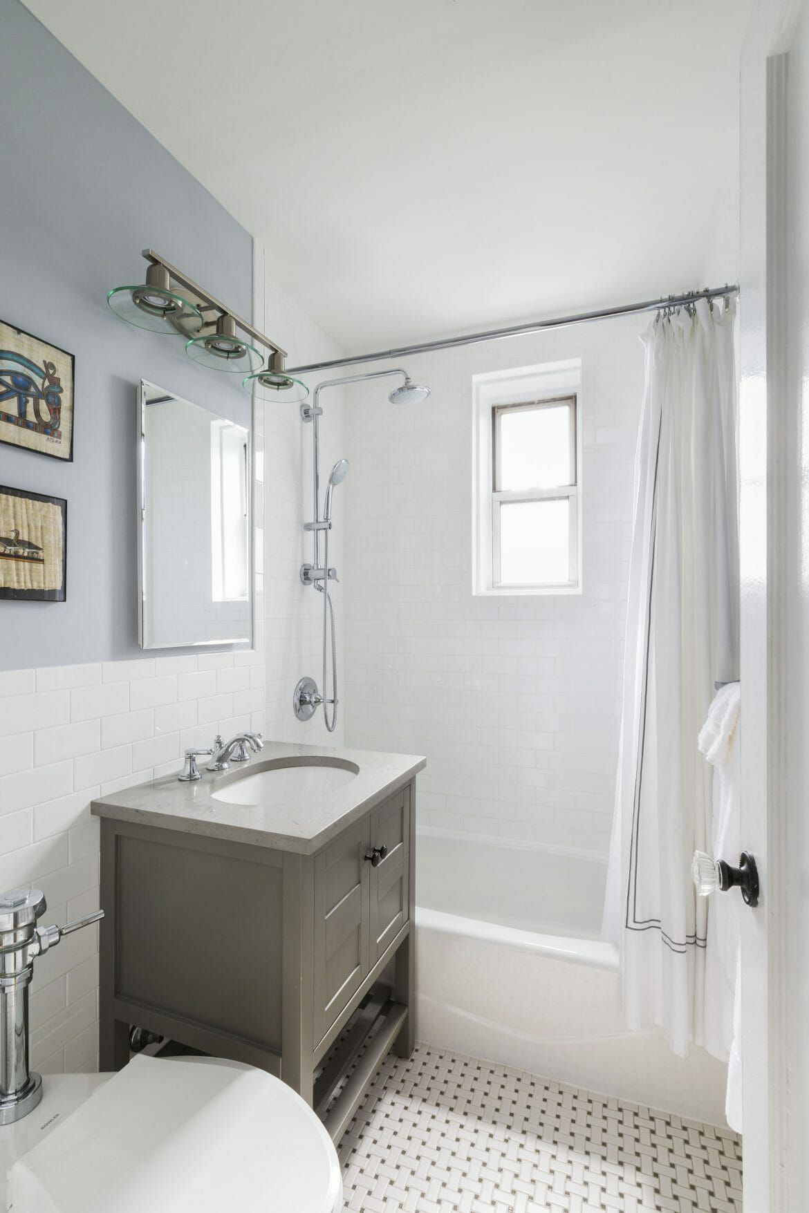 Before And After Netural Bathrooms Make A Statement Mold In