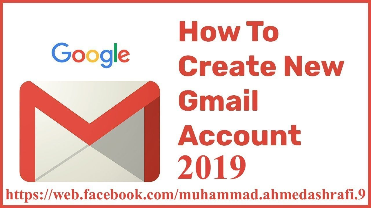 How To Create Gmail Account Accounting Gmail Create