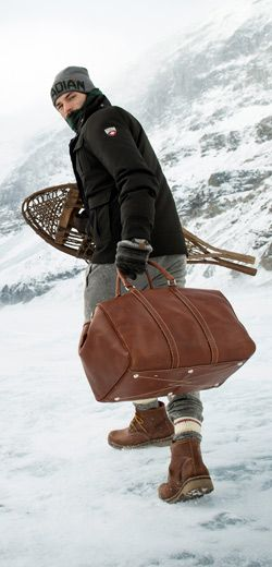2b9f8454bd The perfect rugged duffel for your urban  outdoors-y  man. Small Banff Bag ( Tribe)