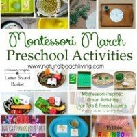 """5 Green and Speckled Frogs"" with Props & Free Printables {Montessori Monday} - LivingMontessoriNow.com"