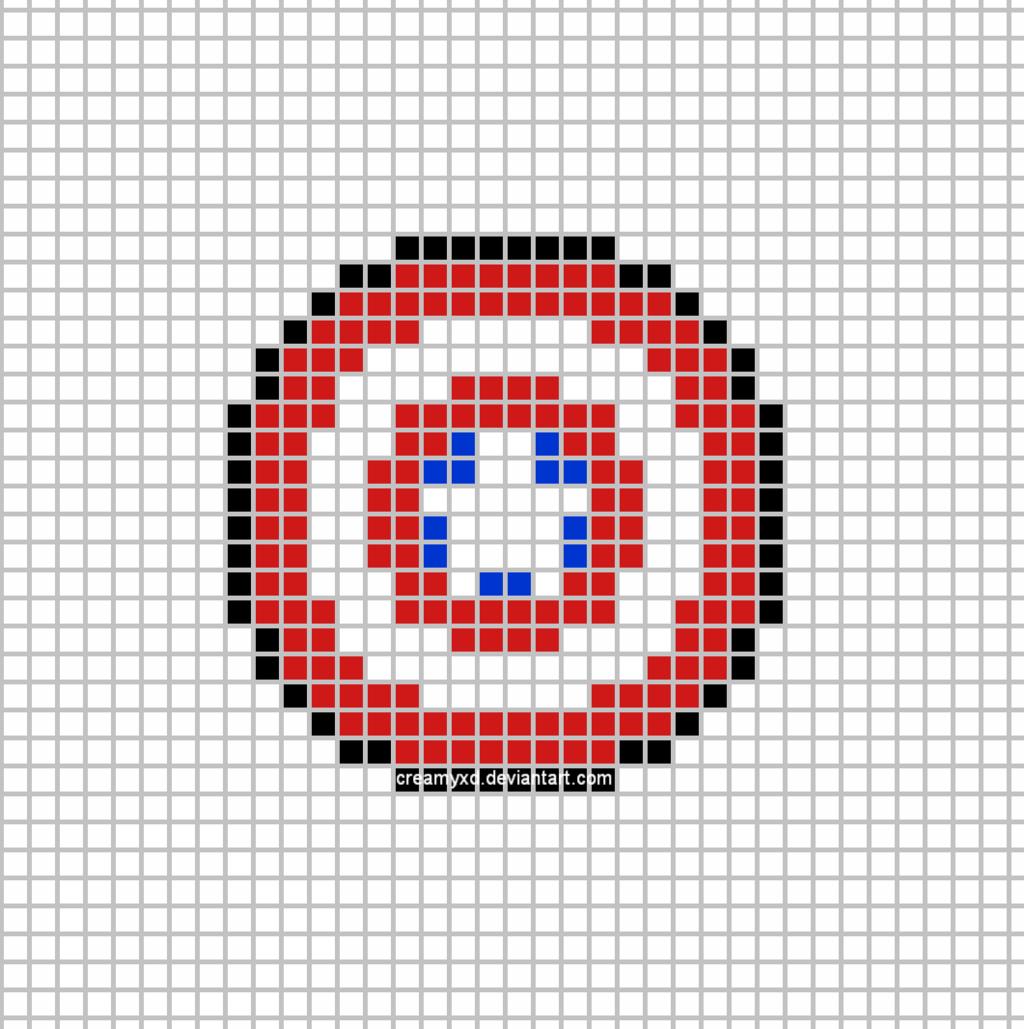 Captain America Shield Template by CreamyXD.deviantart.com on @DeviantArt