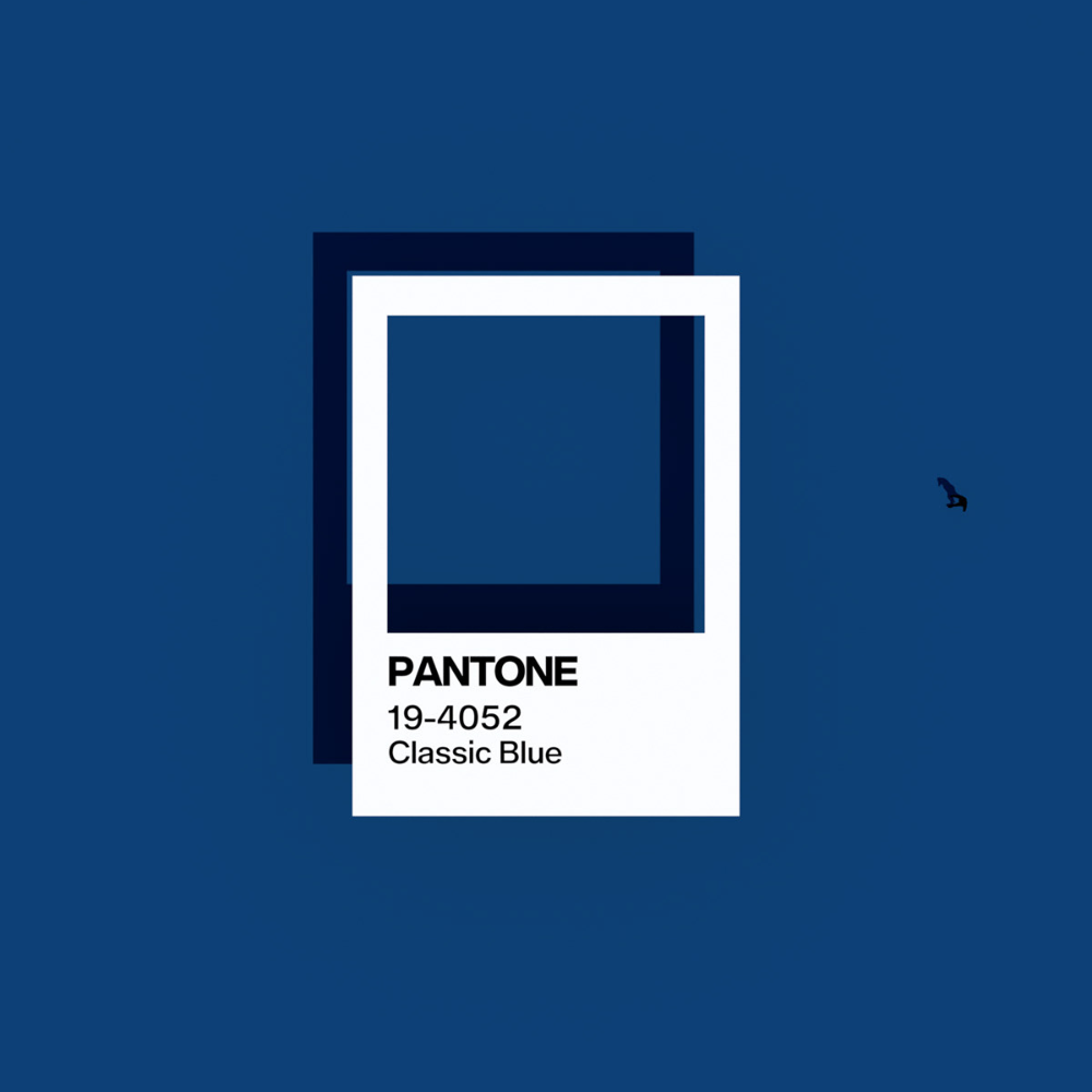 Classic Blue. Pantone Color of the Year 2020