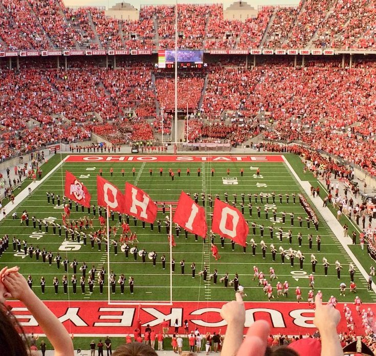 Ohio State University Campus College Football