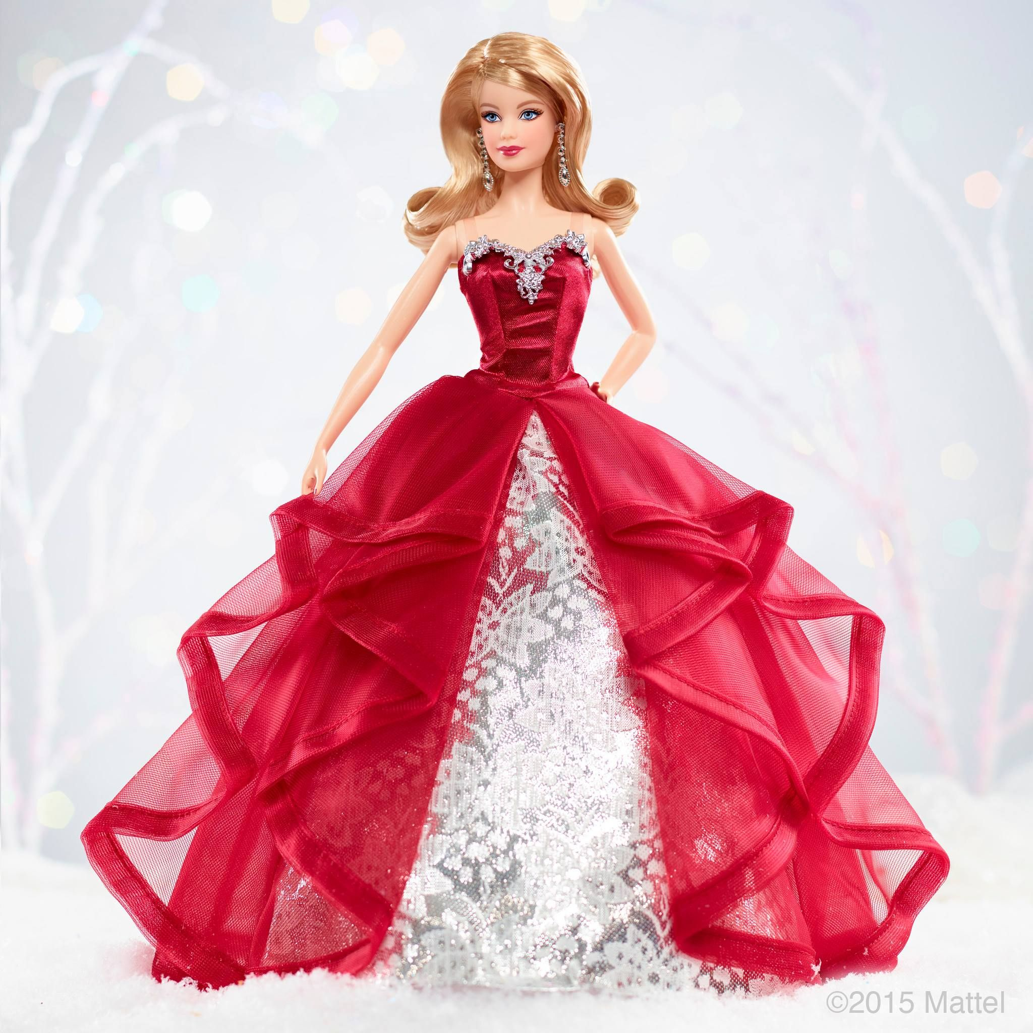 2015 Holiday Barbie | Barbie Doll | Pinterest | Holidays, Dolls and ...