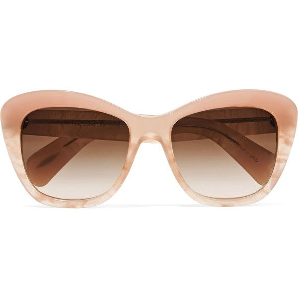 Oliver Peoples - Emmy D-frame Acetate Sunglasses (865 GTQ ...