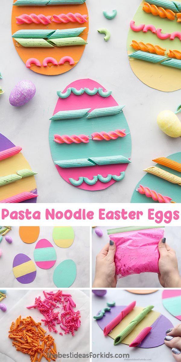 Pasta Easter Eggs