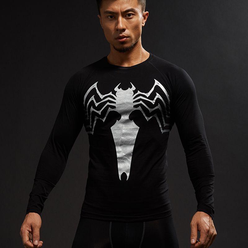The unique Symbiote Rashguard Longsleeve Marvel Venom Crossfit workout -   compression  crossfit  fitness  forgym  rashguard  rashguards  rashguard ... ced80d28ed67f
