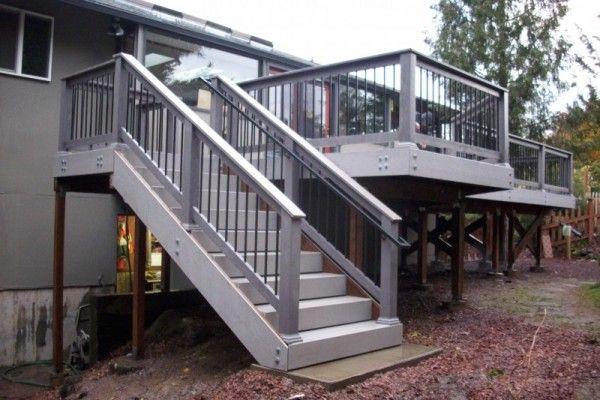 Best Hot Tub Timbertech Pvc Deck Deck Steps Deck Stairs 400 x 300