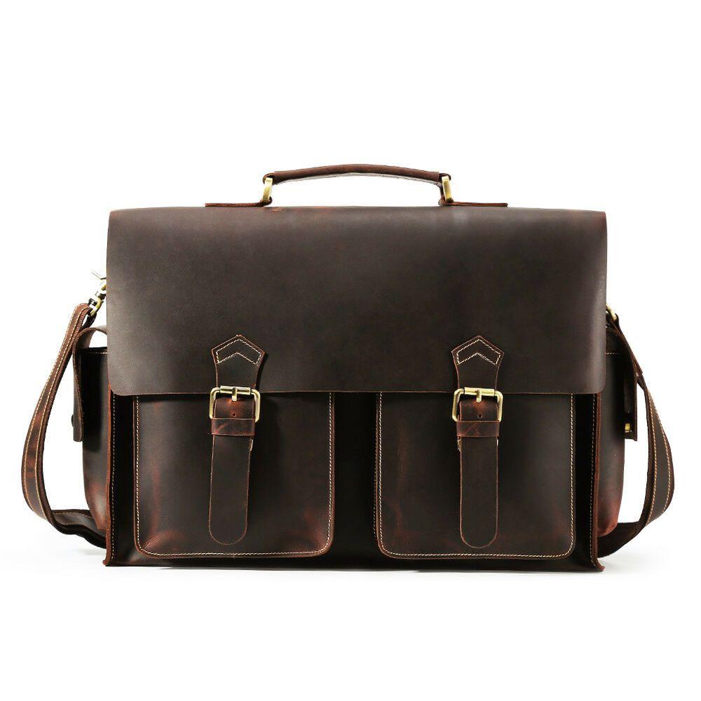 d15ffa73d Vintage Men Leather Briefcaes 17