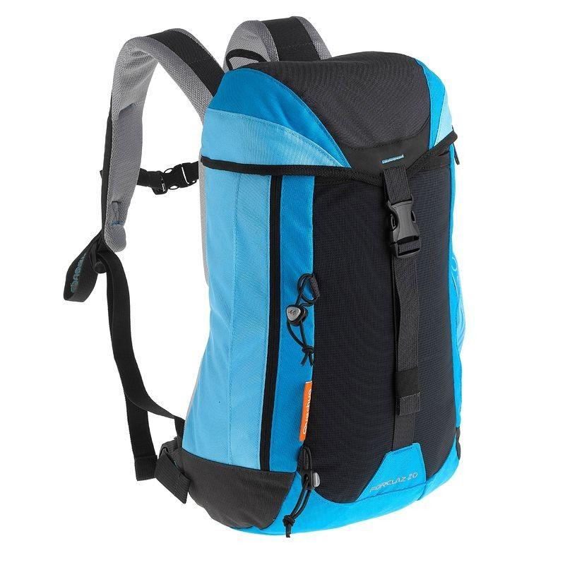 £9.99 Backpacks Forclaz 20 Day travel Backpack, Blue
