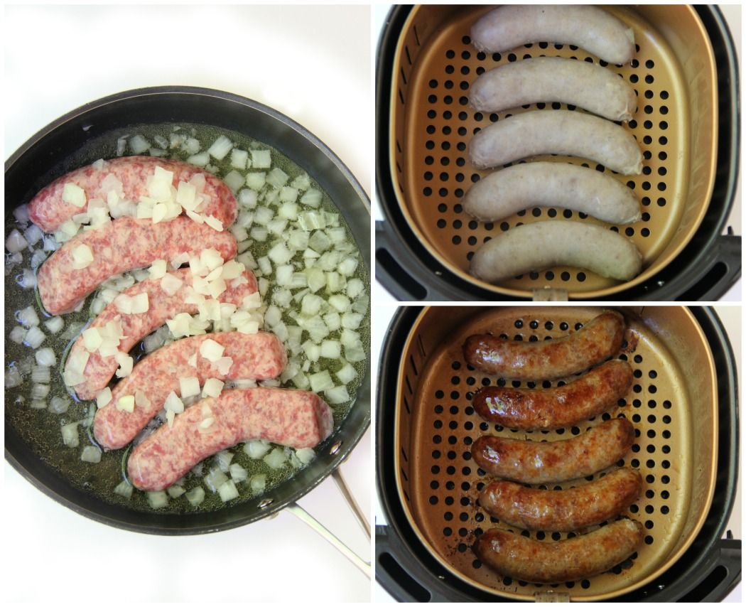 how to cook beer brats in air fryer