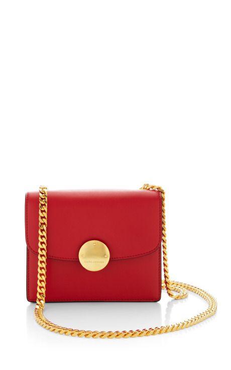 Mini Box Calf Trouble Bag In Red by Marc Jacobs - Moda Operandi