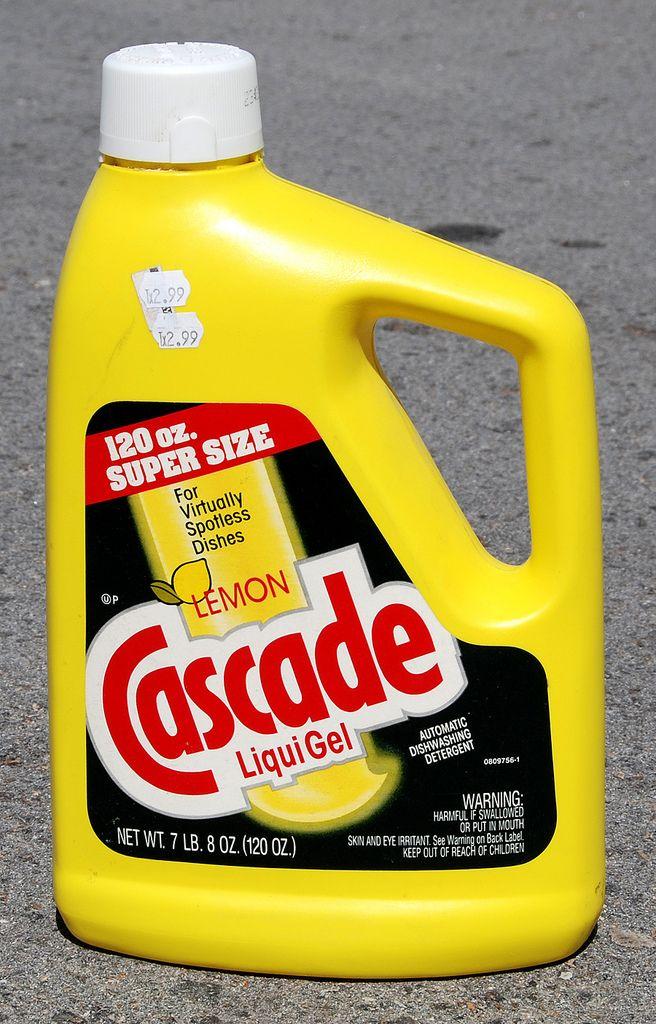 Cascade Liquigel Dishwashing Detergent 1990 Laundry Detergent